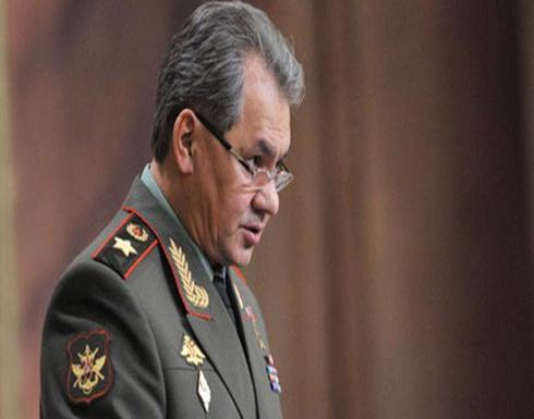 وزير الدفاع الروسي يبلغ بوتين بقرب التوصل لاتفاق هدنة في سوريا