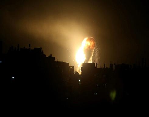 انفجار قوي يهز موقعا لاختبار الصواريخ وسط إسرائيل .. بالفيديو
