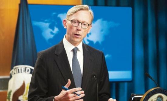 هوك: إيران تخشى الشفافية المالية.. لدعمها الأسد والحوثي