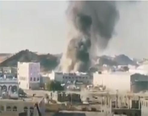 انفجار في محطة غاز وسط مدينة البيضاء باليمن .. بالفيديو