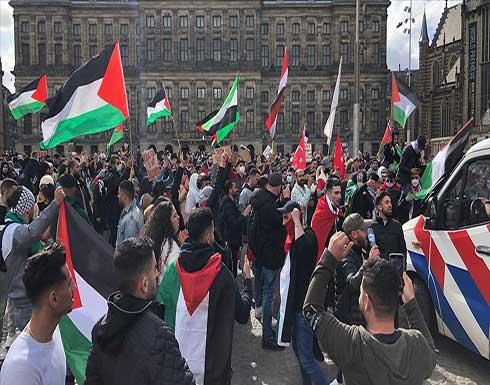 احتجاجات في عواصم ومدن أوروبية منددة بالاعتداءات الإسرائيلية