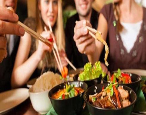 دراسة : الاكل مع الاصدقاء يفتح الشهية اكثر