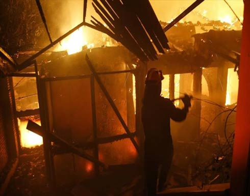 مصرع شخصين وإصابة العشرات في حرائق قرب أثينا