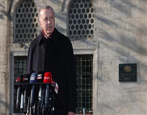 أردوغان: نجري محادثات مع روسيا والصين حول لقاح كورونا