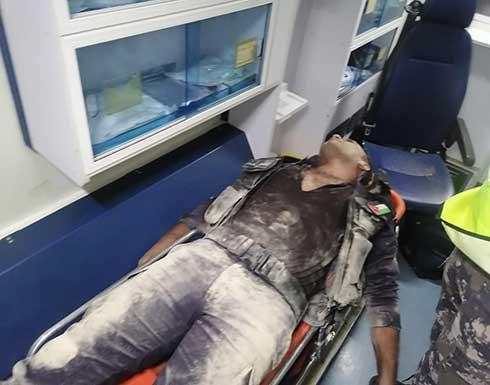 أربع اصابات في صفوف الامن الاردني خلال التعامل مع شغب ناعور .. صور
