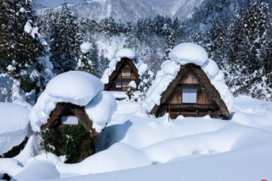 بالصور: هذه القرية اليابانية من أكثر المناطق برودة على كوكب الأرض