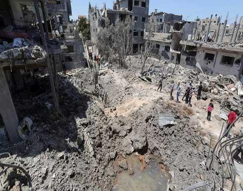 4 شهداء جراء قصف الاحتلال لقطاع غزة .. بالفيديو
