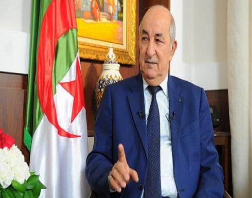 عبد المجيد تبون : إقامة الدولة الفلسطينية المستقلة أساس الاستقرار في الشرق الأوسط