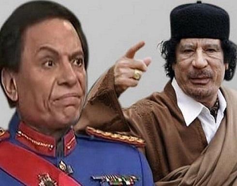كواليس محاولة استدراج القذافي للفنان عادل إمام لاغتياله