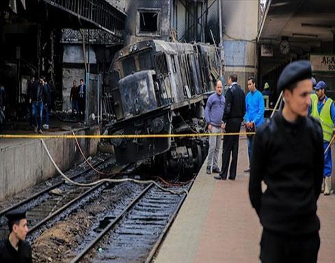 حبس 6 متهمين في حادث قطار القاهرة