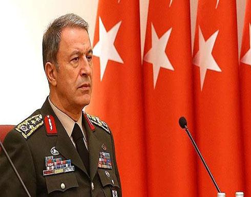 وزير الدفاع التركي: هدفنا الأهم وقف كل الهجمات الجوية والبرية على إدلب وتحقيق الهدنة هناك