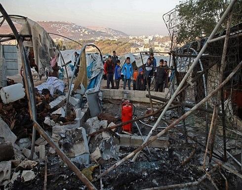 واشنطن تتهم دمشق باستهداف مخيم للنازحين في إدلب