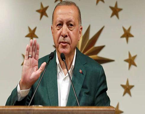 """أردوغان: حزب """"العدالة والتنمية"""" أحرز المرتبة الأولى في الانتخابات المحلية"""