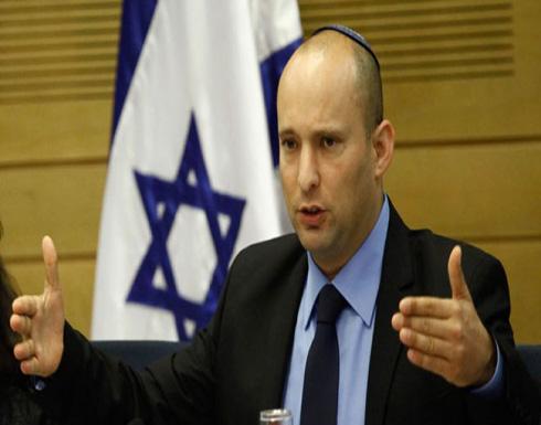 """بينت :  للفلسطينيين دولتان   الأولى في غزة والثانية في الأردن"""""""