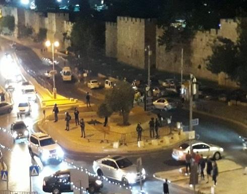 قوات الاحتلال تشنّ حملة اعتقالات واسعة في القدس .. بالفيديو