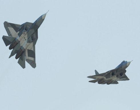 """""""مقاتلات روسية"""" تستهدف مناطق في جبل الزاوية جنوب إدلب"""