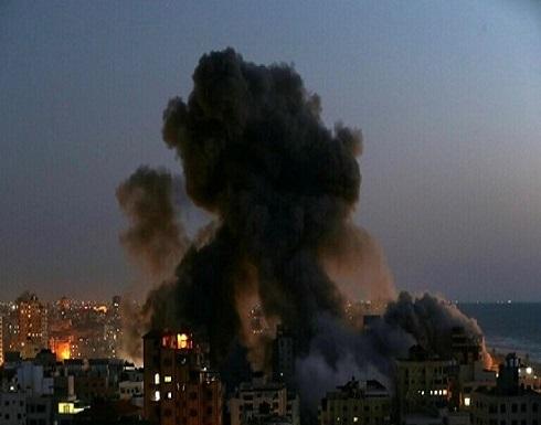 غارات إسرائيلية عنيفة على قطاع غزة