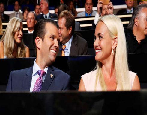 """نقل زوجة ترامب الابن إلى المستشفى بسسب """"مسحوق أبيض"""""""
