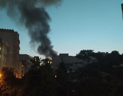 شاهد : مقتل 19 شخصا في حريق اندلع بمركز طبي شمال العاصمة