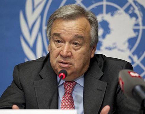 غوتيريس: كورونا أسوأ أزمة منذ الحرب العالمية الثانية