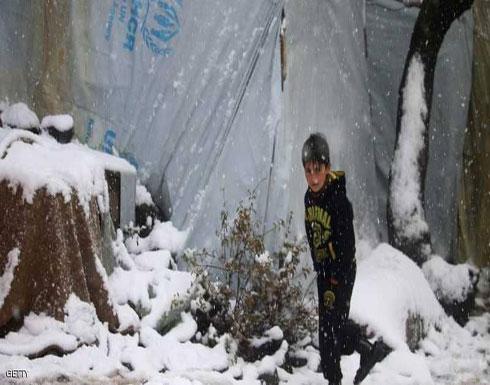 وفاة عشرات الأطفال جراء البرد بمخيم للنازحين السوريين
