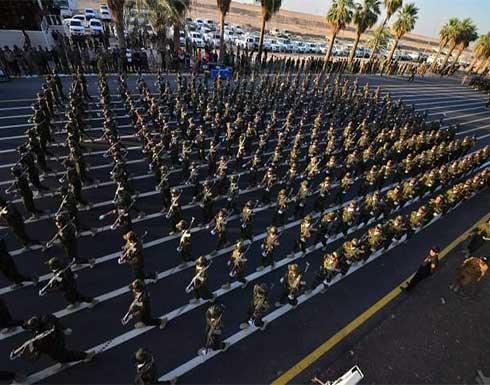شاهد : استعراض كبير للحشد الشعبي في العراق