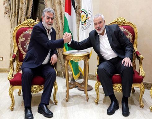 اجتماع ثلاثي لحماس والجهاد مع عباس كامل
