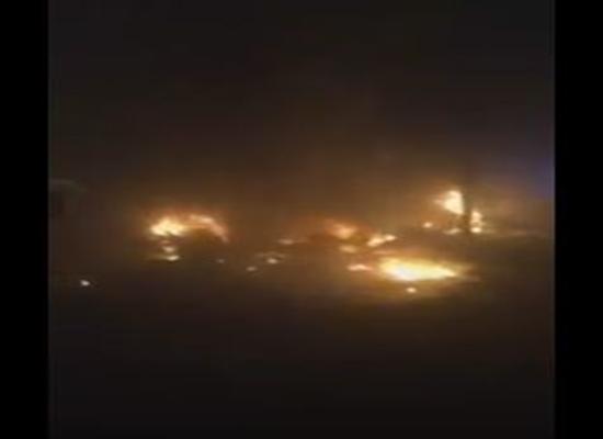 بالفيديو: لحظة تفجير الكرادة