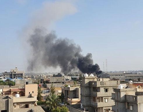 قتلى وإصابات بقصف جوي لحفتر على مستشفى جنوب طرابلس
