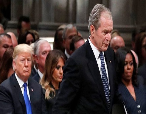 بوش ينفي مزاعم نيويورك تايمز حول عدم  التصويت لترمب