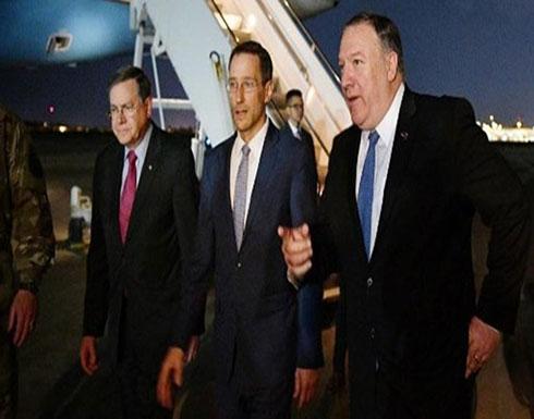 مسؤول عراقي يكشف السبب الحقيقي لزيارة بومبيو الأخيرة
