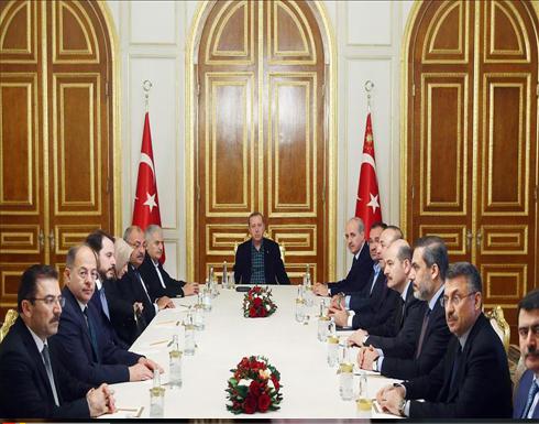 انتهاء اجتماع أمني برئاسة أردوغان على خلفية اعتداء إسطنبول الإرهابي