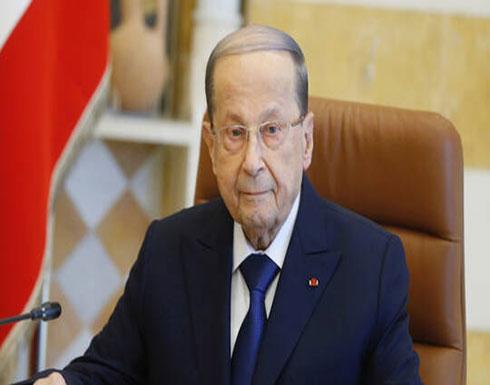 """عون يؤكد لعباس تضامن لبنان مع الشعب الفلسطيني في مواجهة """"صفقة القرن"""""""
