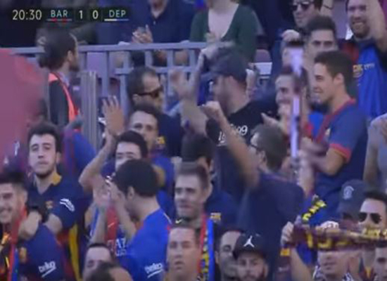 بالفيديو: برشلونة يحتفل بعودة ميسي بفوز كبير على ديبورتيفو