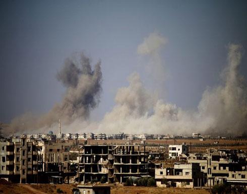 """النظام السوري ينتهك اتفاق """"سوتشي"""" ويقصف مسجدا بإدلب"""