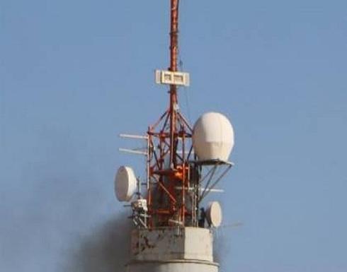 شاهد : احتراق برج للاحتلال شرق رفح بفعل طائرة ورقية