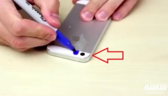 شاهد ماذا يحدث عند تلوينك لفلاش هاتفك بالأزرق والبنفسجي؟!