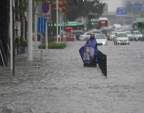 انهيار سد كبير في مدينة تشنغتشو الصينية  .. بالفيديو