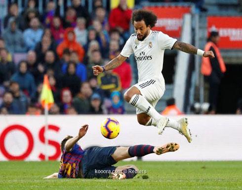 مارسيلو لاعب الشهر في ريال مدريد