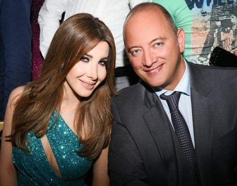 بالفيديو : نانسي عجرم تتحدث عن غيرتها على زوجها فادي الهاشم