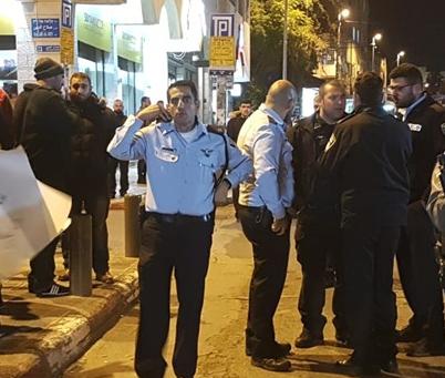 إسرائيل تفرق بالقوة تظاهرة بالقدس احتجاجا على اعتقال المحافظ