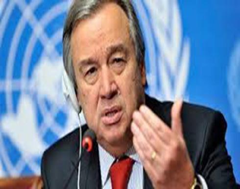الأمين العام الجديد للأمم المتحدة يعرض برنامجه
