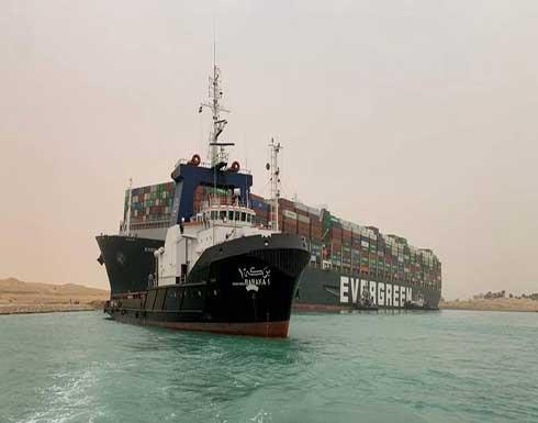 استئناف حركة الملاحة في قناة السويس بعد إعادة تعويم السفينة الجانحة