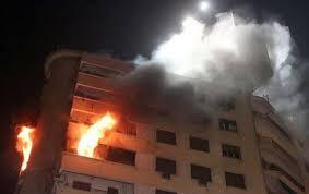 """اصابة 13 شخصا من عائلة واحدة """" بحريق """" منزل في الكرك"""
