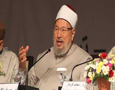 الشيخ القرضاوي يغادر مشفاه بعد 6 أسابيع من كورونا