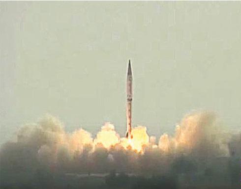 شاهد : باكستان تختبر صاروخا باليستيا متوسط المدى