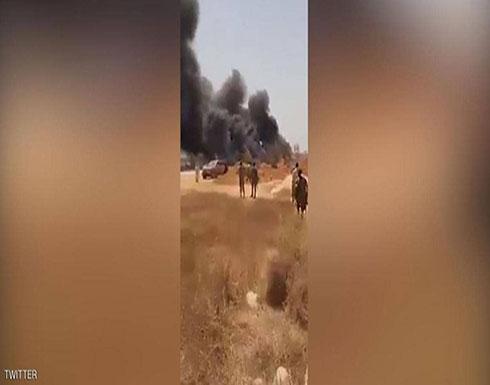 شاهد: اللقطات الأولى لمحاولة اغتيال قائد القوات الخاصة الليبية