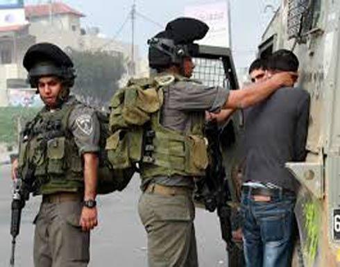 إسرائيل تعتقل 18 فلسطينيا في الضفة الغربية