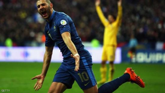 بنزيمة: لا عودة إلى المنتخب الفرنسي طالما بقي ديشان