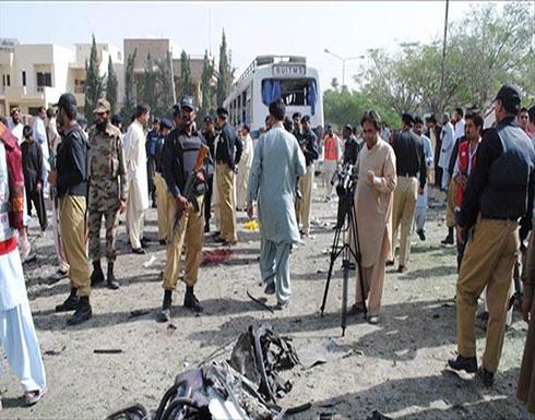 مقتل شخص وإصابة 9 في انفجار دراجة مفخخة بباكستان